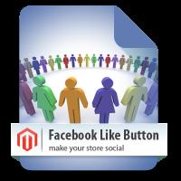Magento Facebook Like Button magento module