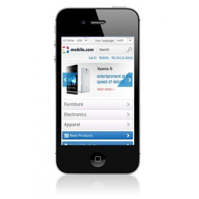 Magento mobile template