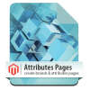 Magento Attributes and Brands pages