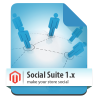 Social Suit - Facebook & Google social networks integration for Magento