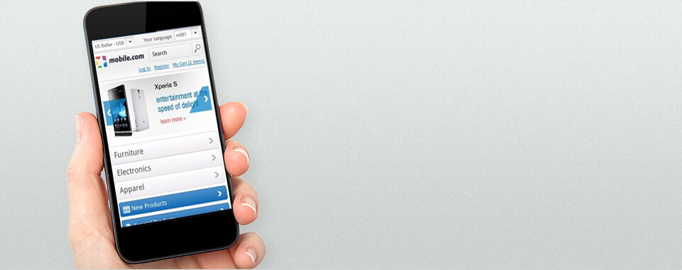 Magento Mobile Theme 1.9.0